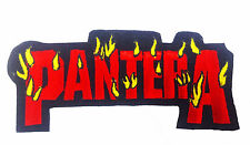 PANTERA Embroidered Rock Band Iron On or Sew On Patch UK SELLER Patches