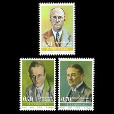 Luxembourg 2016 - Personalities Famous People - MNH