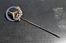 Mercedes Benz Anstecknadel 25 Jahre blau emailliert mit Aufsatz alt+original