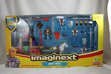 2004 Fisher-Price Imaginext Kings Coach The Legend of King Arthur Play Set