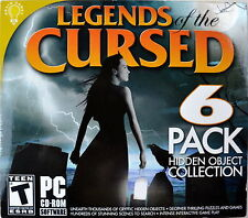 Legends Of The Cursed PC Game open box unused  EXCELLENT CONDITION
