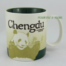 China Chengdu 16oz Starbucks Coffee Collectible Series Ceramic City Mug