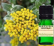 Helichrysum Italicum (Immortelle) Essential Oil by Natura Bona. Therapeutic 10ml