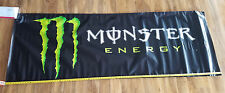 MONSTER ENERGY drink BANNER moto supercross gear BMX snowboard skate advertising