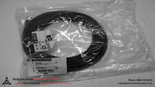 TELEMECANIQUE XGS Z09L10 POWER SUPPLY CABLE 5 POLE FEMALE STRAIGHT 10M,  #144012