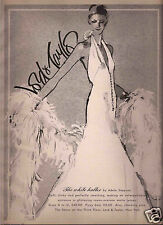 70's Fred Greenhill Illustrated Lord & Taylor Fashion Advertisement   1973