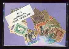 Inde Anglaise 50 timbres différents