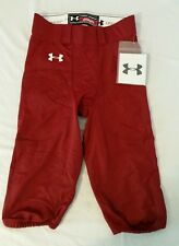 New Under Armour Authentic Columbia Burgundy Football Pants Adult L Large NWT