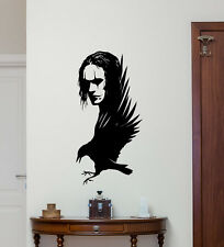 The Crow Wall Decal Brandon Lee Movie Vinyl Sticker Poster Home Decor Art 270hor