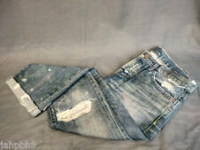 MADEWELL NSF BECK DESTRUCTED JEAN PAINT SPLATTERS BEDOUIN WASH SIZE 25 NWT