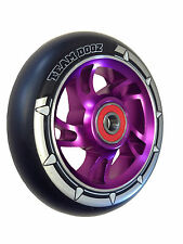 Pro 100mm Alloy Metal Core Scooter Wheels Compatible with Razor JD Bug Crisp MGP