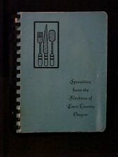 Specialties from the Kitchens of Lane County Oregon Cookbook
