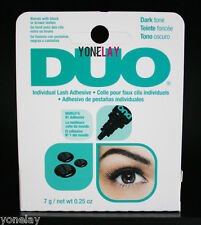DUO Individual False Lash Adhesive Eyelash Lashes Glue Dark Tone 0.25 oz / 7 g