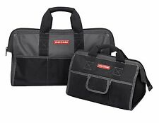 """Craftsman Tool Bag 16"""" and 20"""" Combo Storage Pouch Organizer Carrying Case"""