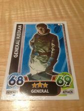 STAR WARS Force Awakens - Force Attax Trading Card #010 General Rieekan