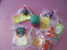 YOWIE YOWIES  FULL SET OF 6 LIMITED EDITION 2000 CHRISTMAS MEN INTACT  PAPERS
