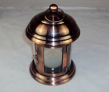 Copper Toned LED Tealight Lantern ~ Attractive Vintage Styling Decor