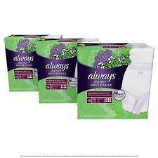 Always Discreet Incontinence Underwear Maximum Absorbency Extra-Large 45 Count