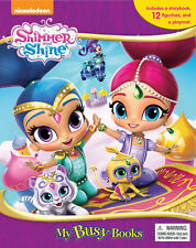 Shimmer and Shine My Busy Book Set Pack 12 Character Figures & Playmat