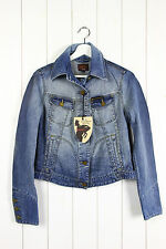 NEW VIVIENNE WESTWOOD ANGLOMANIA X LEE WOMAN DENIM JACKET UK 10  M MEDIUM