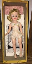 Madame Alexander Cissette Doll Mint In Box W/ Shoes 1950's