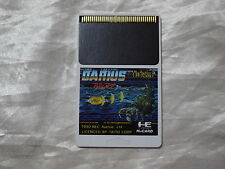 SUPER RARE PC ENGINE Hu card DARIUS ALPHA (card only)  NOT FOR SALE limited 1000
