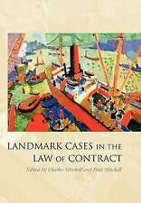 Landmark Cases in the Law of Contract, , Good, Hardcover