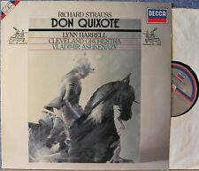 STRAUSS: Don Quixote + Salome's Dance   Harrell Ashkenazy / Decca digital LP NM