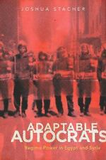 Adaptable Autocrats: Regime Power in Egypt and Syria (Stanford Studies in Middle