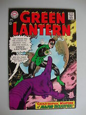Green Lantern #57 VG/F Catastrophic Weapons Of Major Disaster
