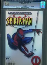 Ultimate Spider-Man #1  (White Variant)  CGC 9.4 WP