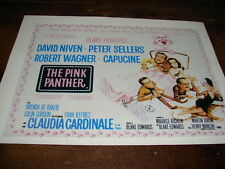 EDWARDS - NIVEN - SELLERS - WAGNER - Mini poster LA PANTHERE ROSE !!!!!!!!!!!