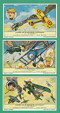 LIEBIG - SET OF 6 CARDS -  S 1777  /  F 1772  -  BELGIAN  AIR  FORCE  -  1962