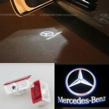 2 x Laser LED Door courtesy Shadow Projector Light For Mercedes W205 C 2015-2017
