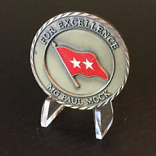 B45 311th Support Command Corps COSCOM 2 Star General MG Mock Challenge Coin