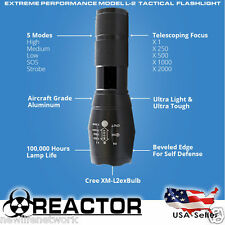 REACTOR EXTREME BLACK OP L2 X700 Flashlight USA SELLER IN STOCK * FREE SHIPPING