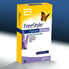 Abbott FreeStyle Optium Blood B-KETONE Test Strips 1box