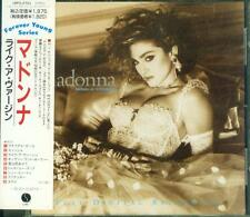 Madonna LIKE A VIRGIN JAPAN CD 18P2-2701 OBI 1984 RARE