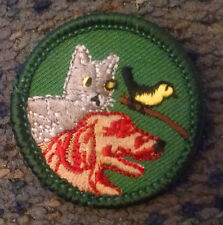 Retired Brand New Junior Girl Scout Pet Care Badge Patch 2001 - 2011