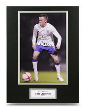 Tom Cleverley Signed 16x12 Photo Autograph Display England Memorabilia + COA