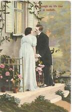 CIRCA 1920 LU THROUGH MY LIFE TIME SO TENDERL PICTURE POST CARD  856/IV GERMANY