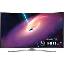 "Samsung UN65JS9000 65"" Class Smart 3D Curved LED 4K Ultra HDTV With Wi-Fi"