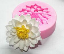 Lotus Flower 3D Silicone Fondant Mould Chocolate Candy Cake Baking Tool F10735