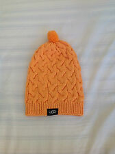 Ugg women's hat in orange brand new