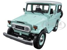 TOYOTA FJ40 FJ 40 LIGHT GREEN 1:24 DIECAST MODEL CAR BY MOTORMAX 79323