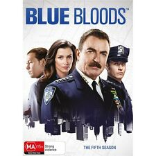 BLUE BLOODS-Season 5-Region 4-New AND Sealed-2 DVD Set-TV Series