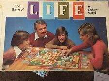 1979 THE GAME OF LIFE THE FAMILY BOARD GAME MILTON BRADLEY