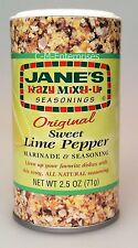 Jane's Krazy Mixed Up Seasoning Original Lime Pepper Marinade & Seasoning Janes