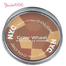NYC NEW YORK COLOR Mosaic Color Wheel face Powder 724 B ALL OVER BRONZE GLOW