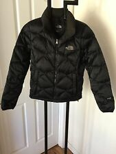 THE NORTH FACE FABULOUS BLACK 550 GOOSE DOWN PUFFER JACKET S/P